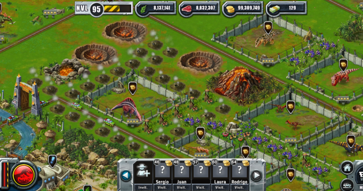 jurassic park builder pc game
