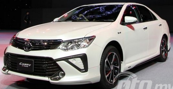 Toyota Camry-type 2.5 V color white