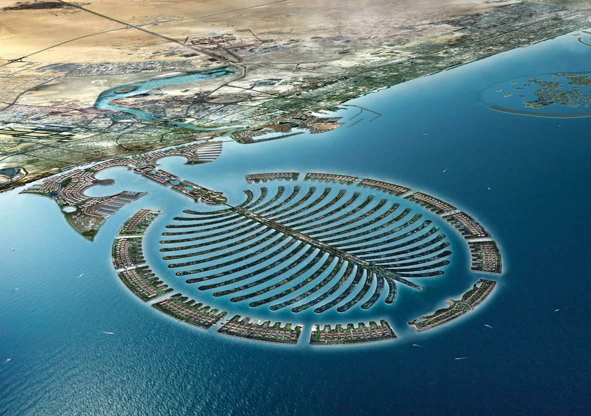 World Most Popular Places Palm Island Dubai