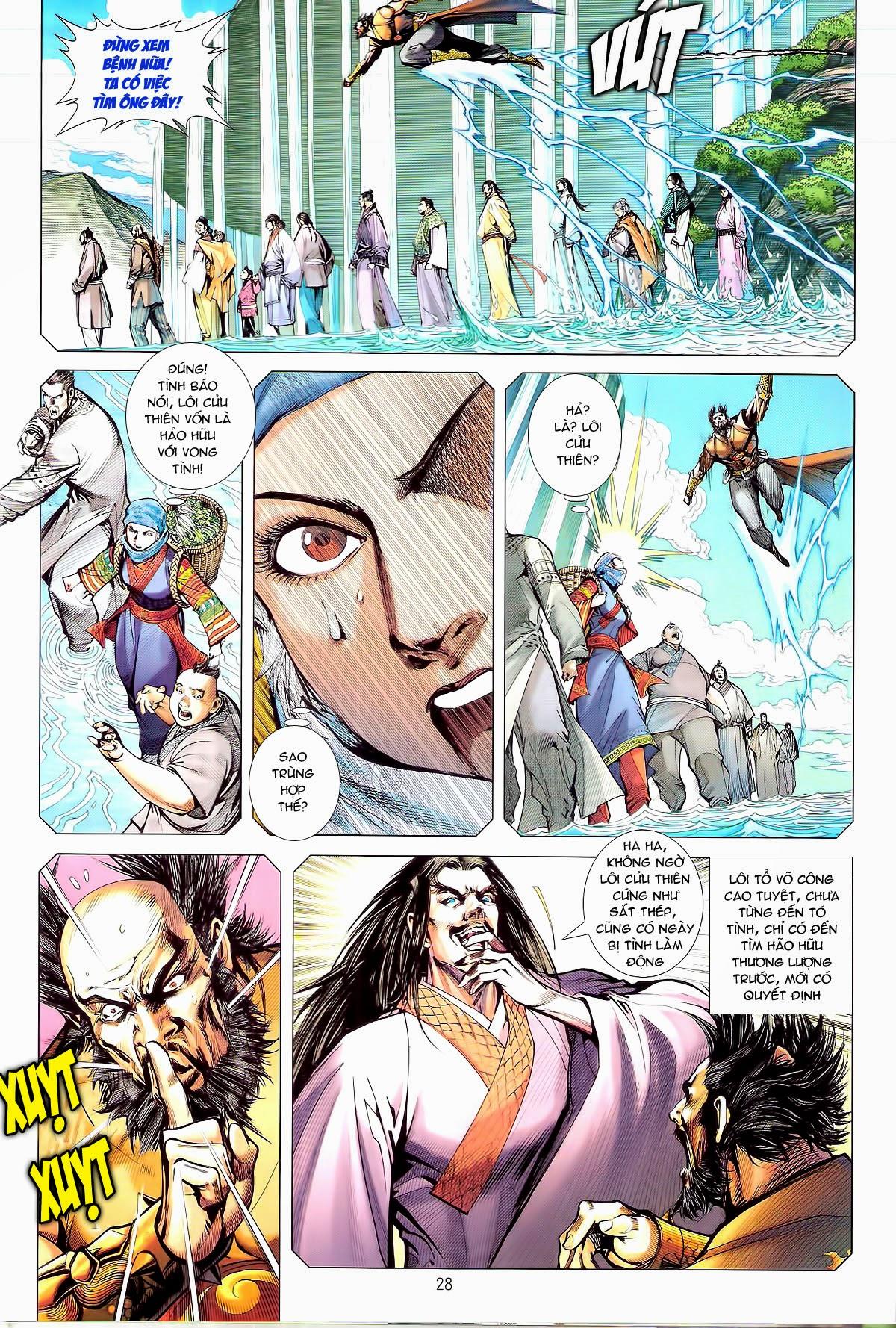 truyện tranh thiết tướng tung hoành Chapter 80/