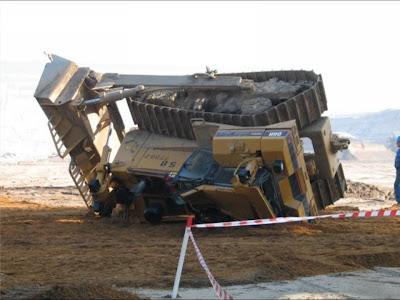 St Excavator Accident