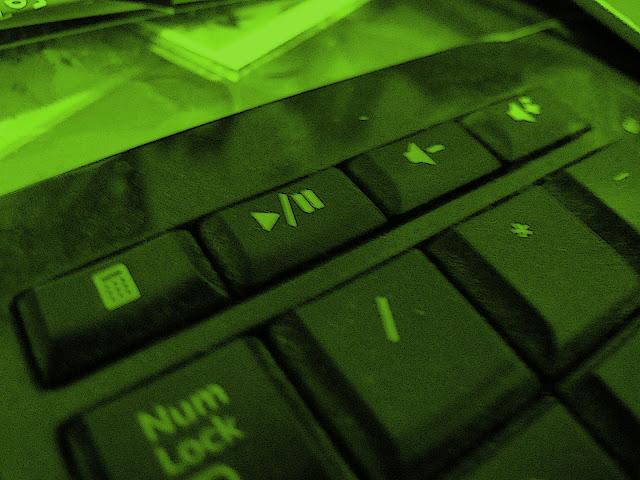 Photo of Lanna's keyboard