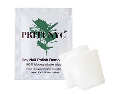Review Priti Nyc Soy Nail Polish Remover Wipes The Glamorganic Goddess