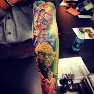 extrange tattoo idea star wars
