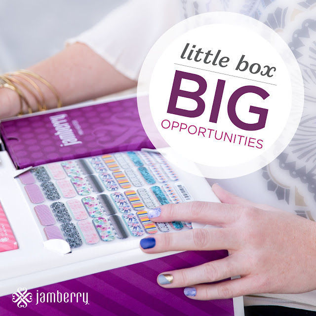 The Jamberry business opportunity - little box, big opportunities!