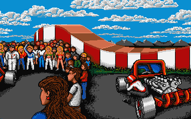 Amiga Forum User Offers 400 For Stunt Car Racer At 50 60 Frames Per Second