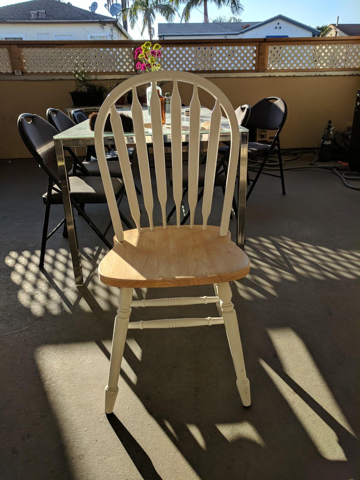 Refurbished Chair Using Chalk Paint