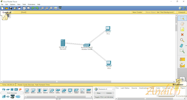 [Tutorial Cisco Packet Tracer 10] Konfigurasi Jaringan Wireless-anditii.web.id