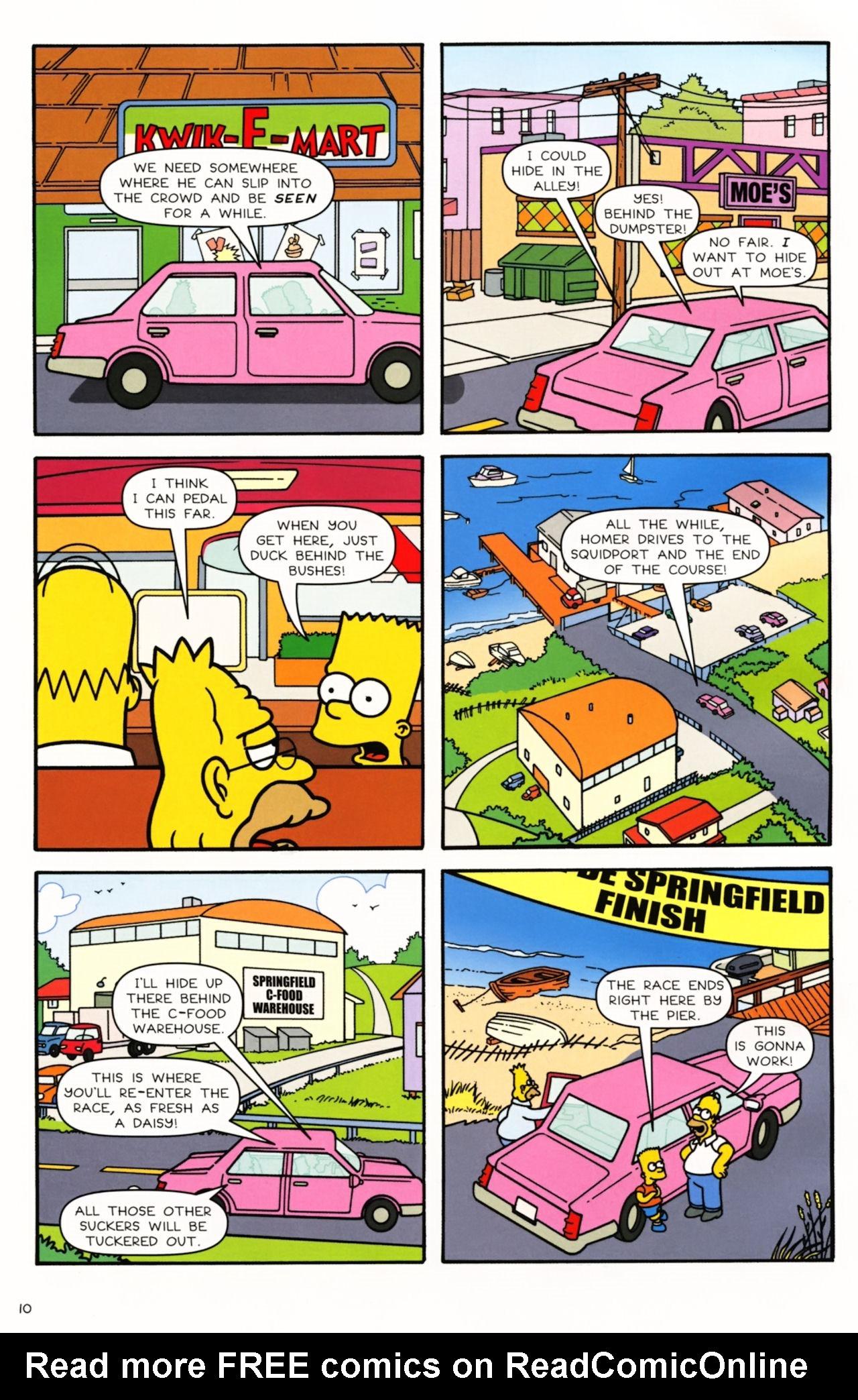 Read online Simpsons Comics comic -  Issue #166 - 9