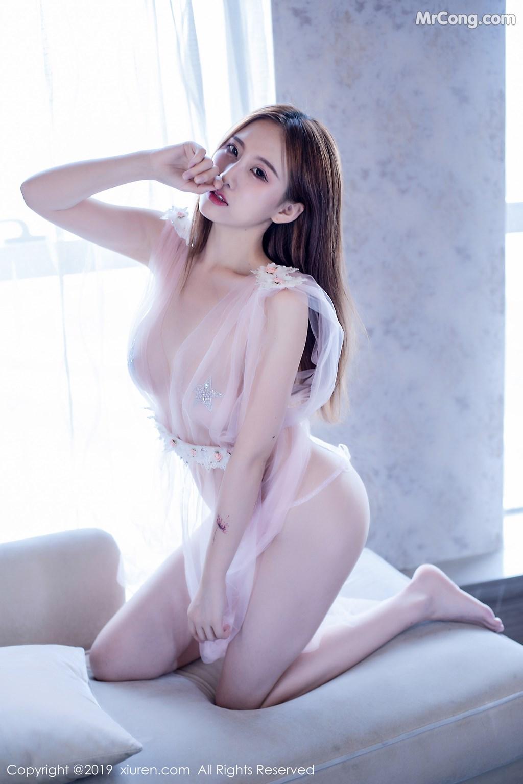 Image XIUREN-No.1643-Yue-Yin-Tong-MrCong.com-028 in post XIUREN No.1643: Yue Yin Tong (月音瞳) (50 ảnh)