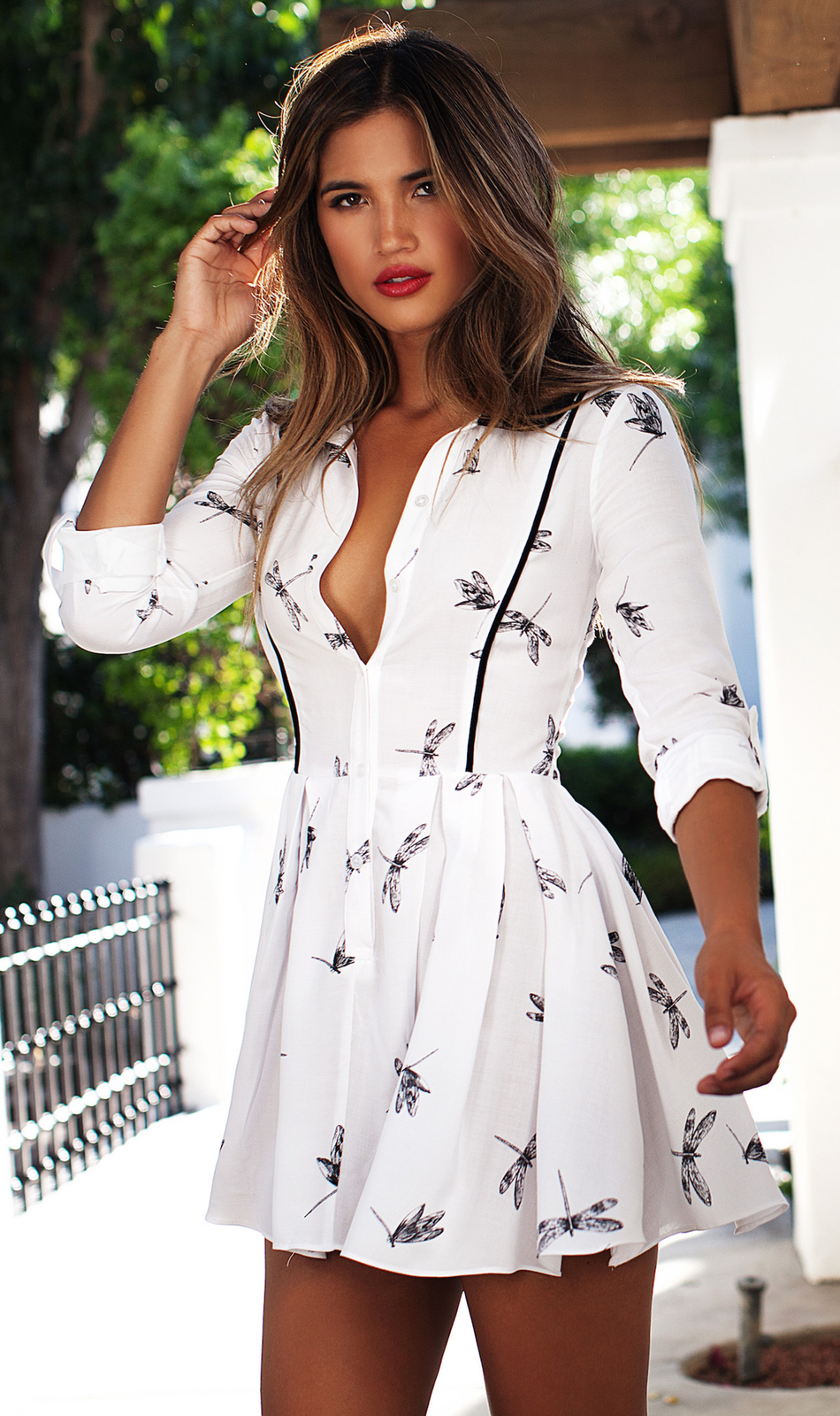 LURELLY PRAGUE SHIRT DRESS