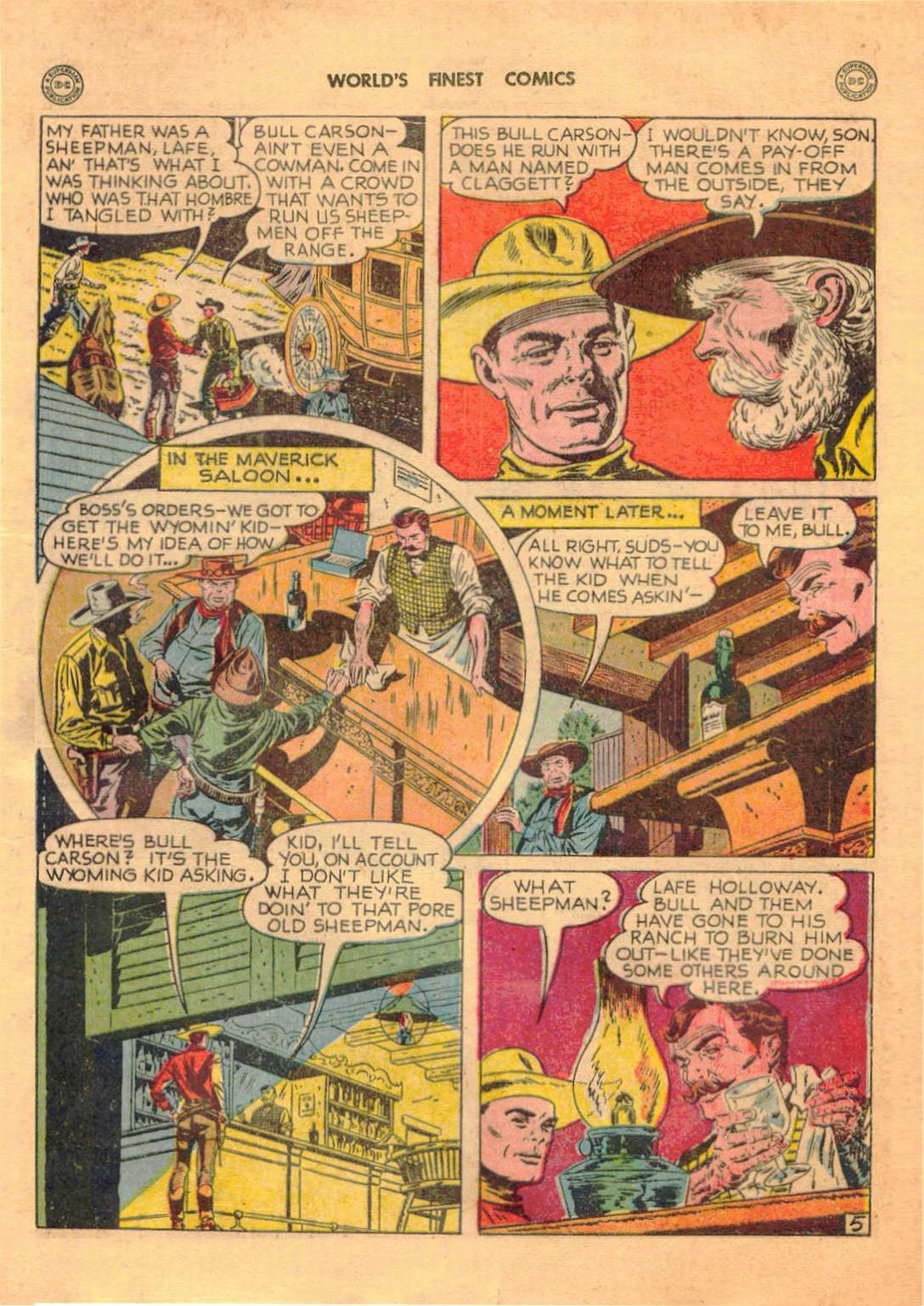 Read online World's Finest Comics comic -  Issue #42 - 41
