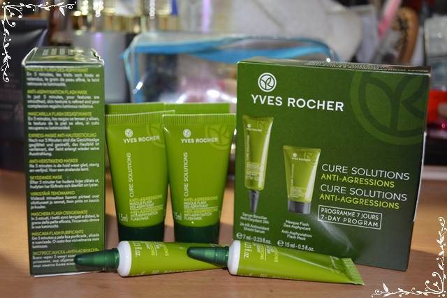 Mask Flash Cure Solutions of Yves Rocher