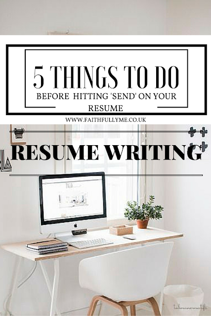 Resume Writing: What to do before hitting 'send' on your resume. | Job Application | Resume  Writing Tips | Career Advice | By Lindsay L. Malatji