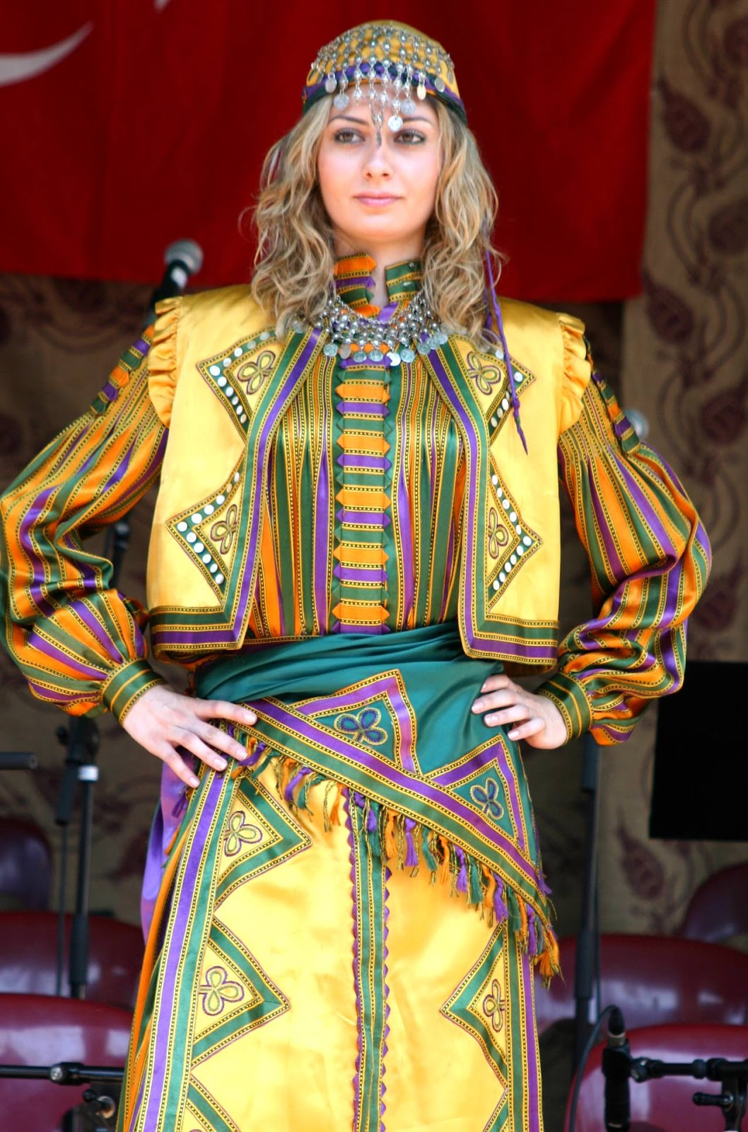 Fashion World Latest Fashion: Turkish Traditional Dresses