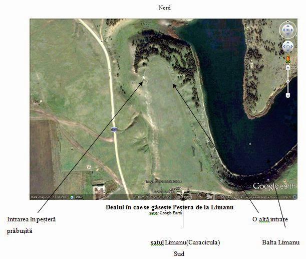 Pestera de la Limanu Google Maps