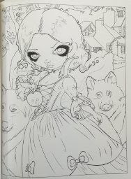 New Gothic Fantasy Coloring Book From Jasmine Becket Griffith