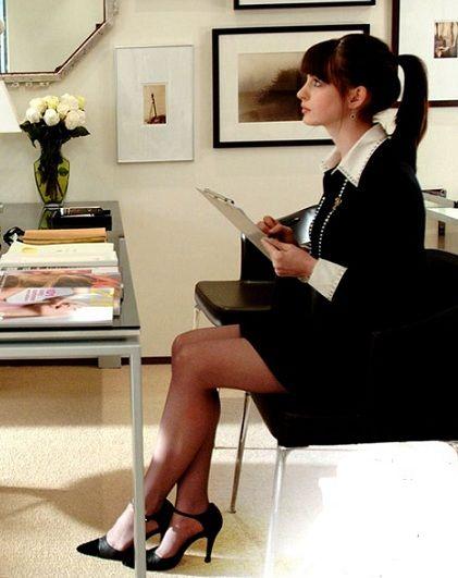 Andrea (Anne Hathaway) Diabo vesta prada fukne figurino