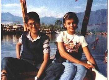 aishwarya rai, childhood pictures