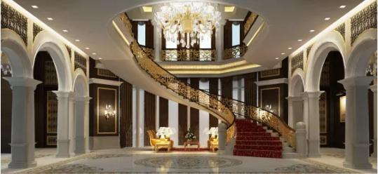 Desain Tangga Rumah Untuk Rumah Mewah