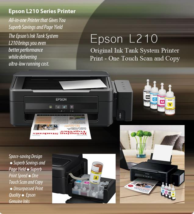 Printer Multifungsi Epson L210