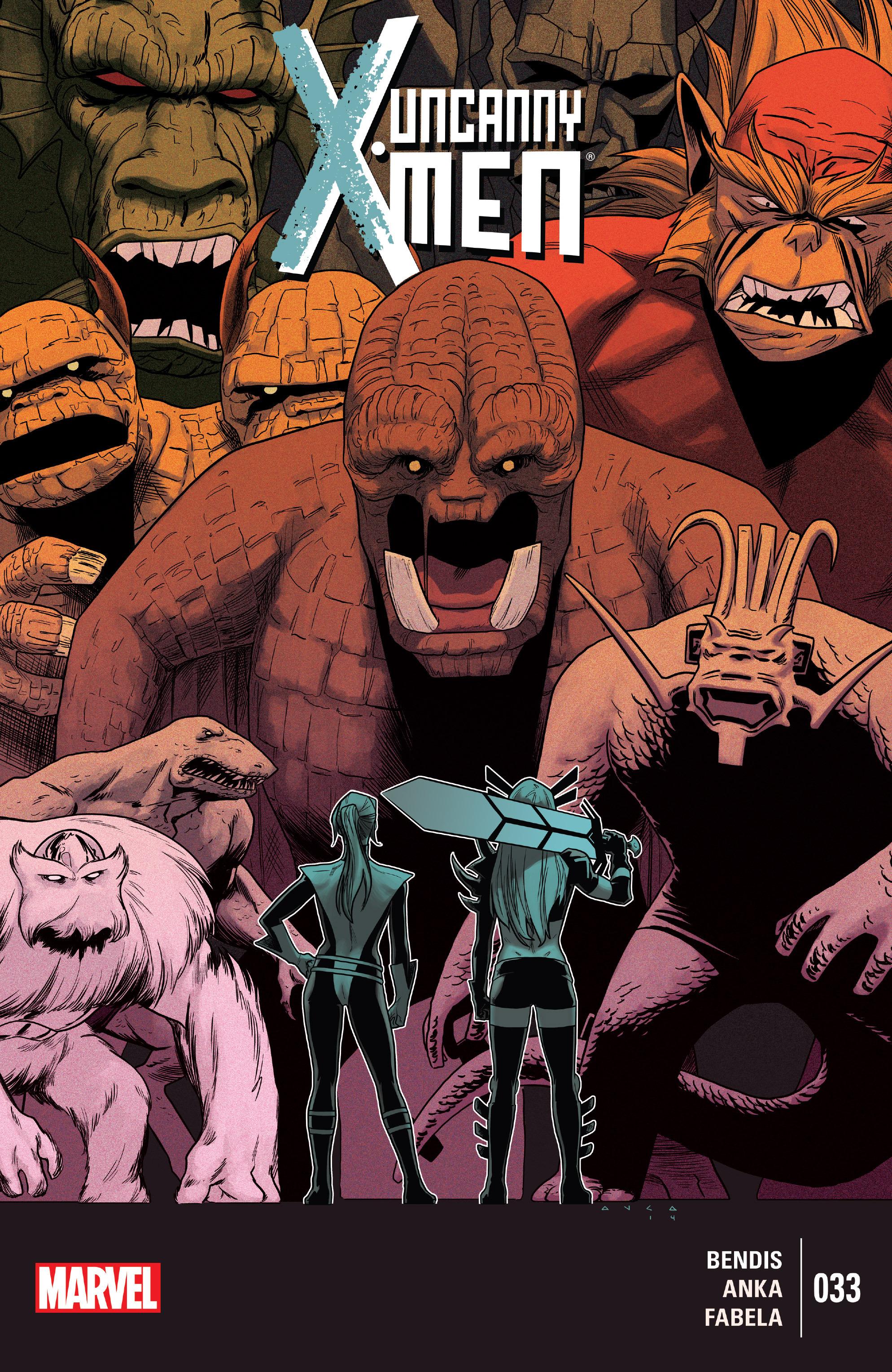 Read online Uncanny X-Men (2013) comic -  Issue #33 - 1