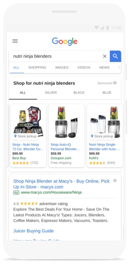 US%2BScreenshot - AdWords Product Reviews voor Shopping nu Wereldwijd beschikbaar