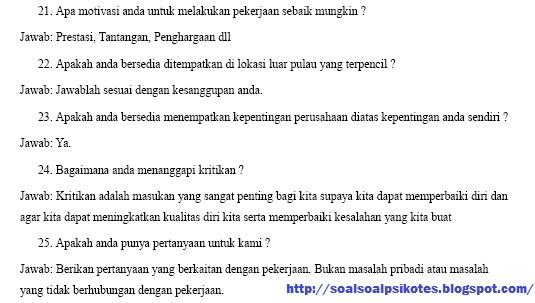 Wawancara Kerja PT Pos Indonesia (Persero) Gratis