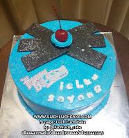Kue Tart Ulang Tahun Buttercream Simpel