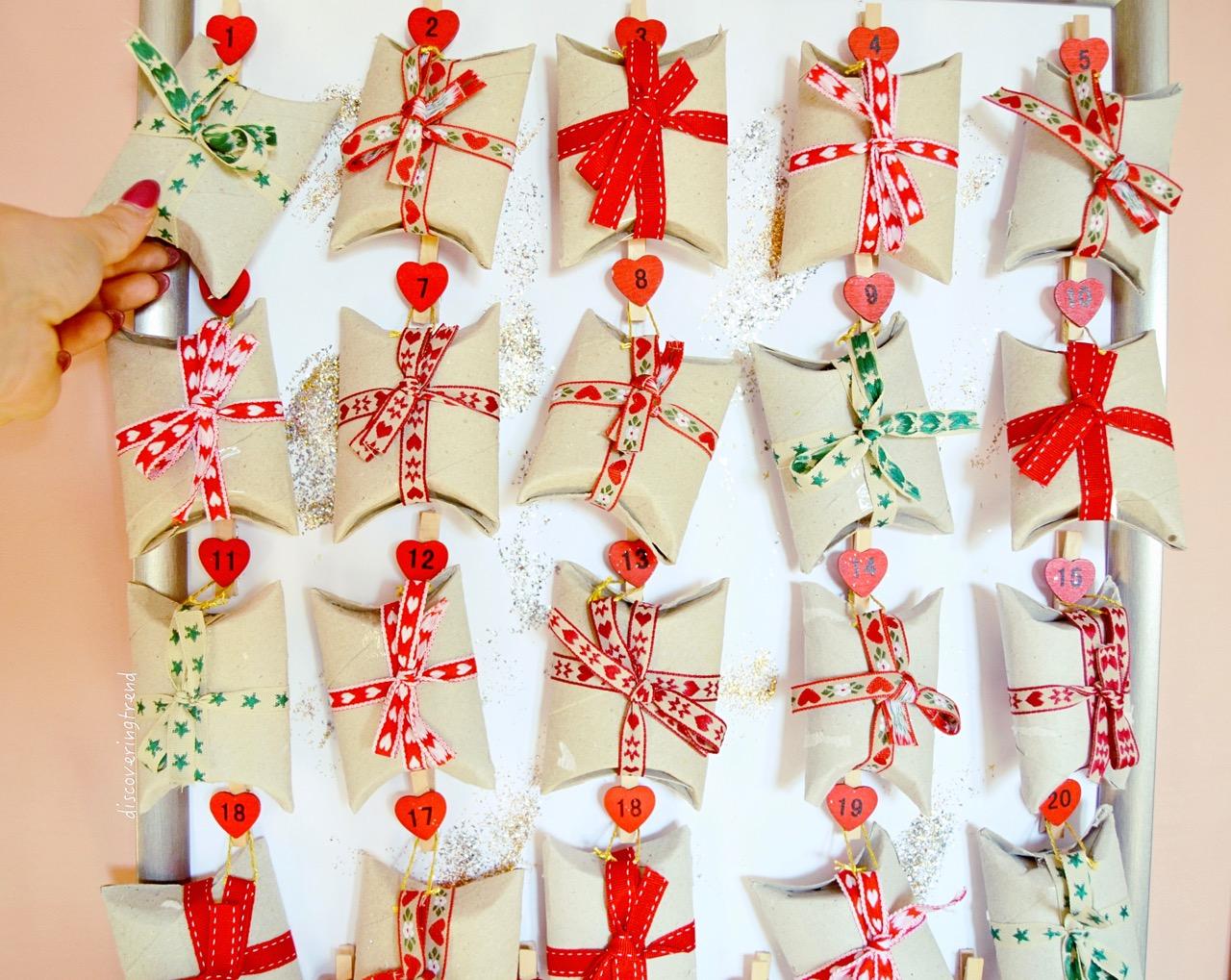 Calendario Dellavvento Pinterest.Christmas Diy Calendario Dell Avvento Fai Da Te