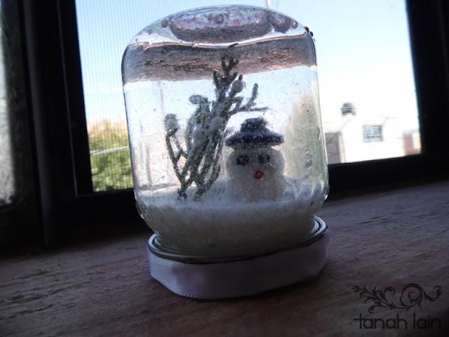 Cómo hacer una bola de nieve