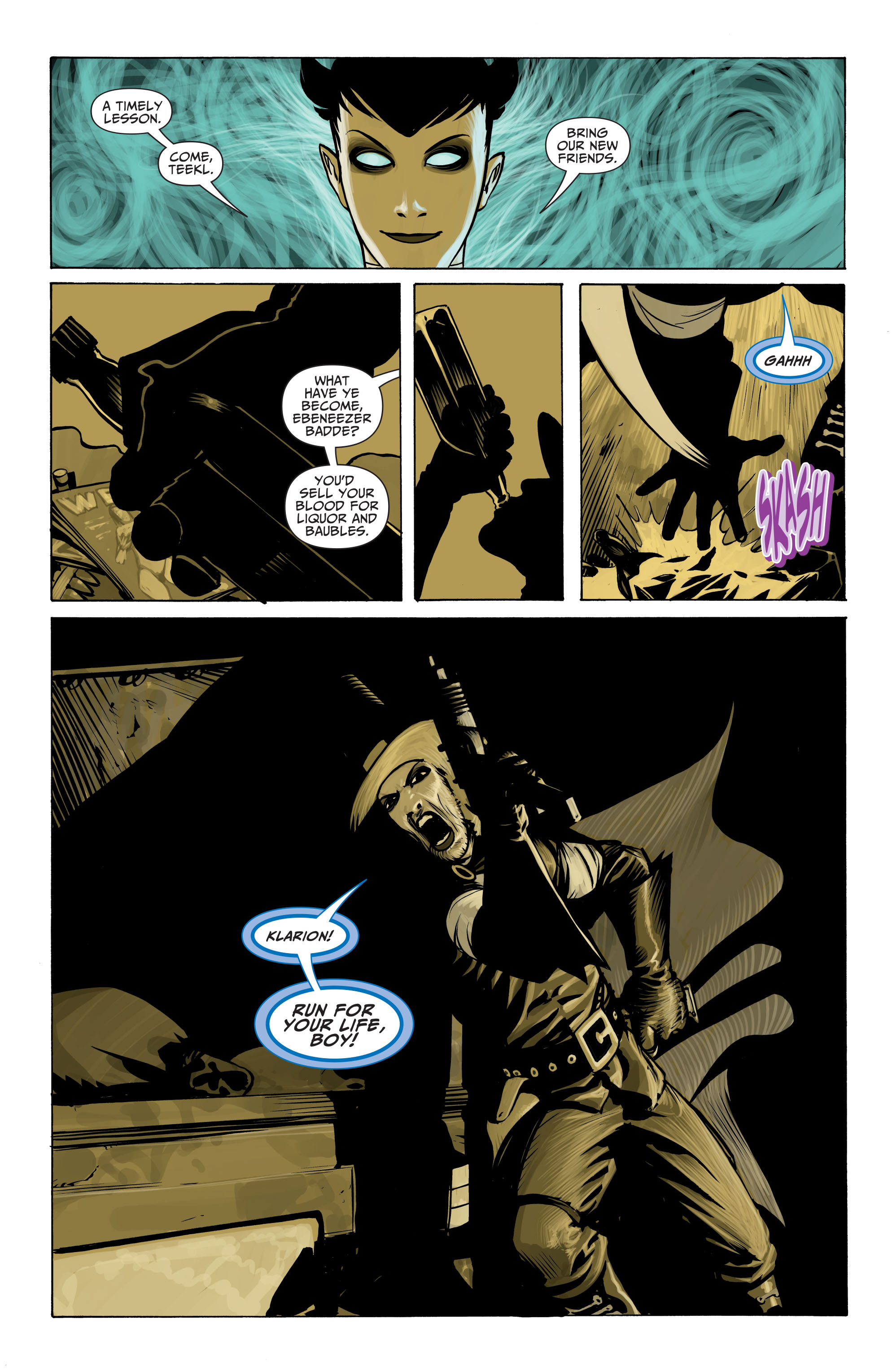 Read online Seven Soldiers: Klarion the Witch Boy comic -  Issue #2 - 19