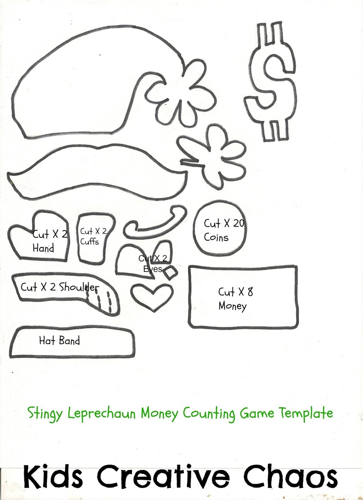 Saint Patrick's Day Math Game The Stingy Leprechaun