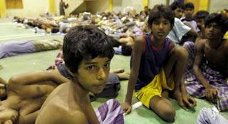 Lagi, 790 Warga Bangladesh dan Myanmar Masuk Langsa