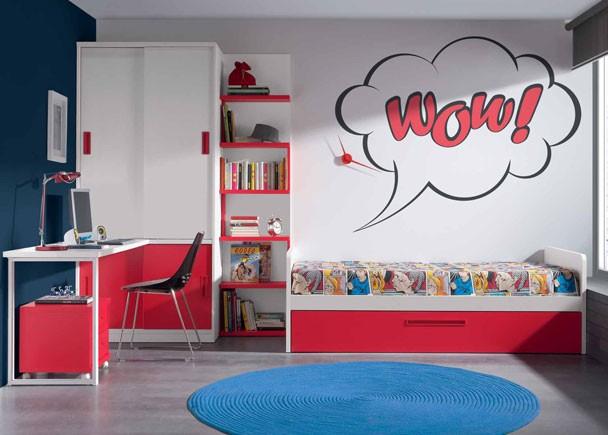 Dormitorios juveniles economicos for Dormitorios puente juveniles baratos