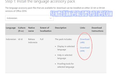 Menjadikan Microsoft Word Bahasa Indonesia
