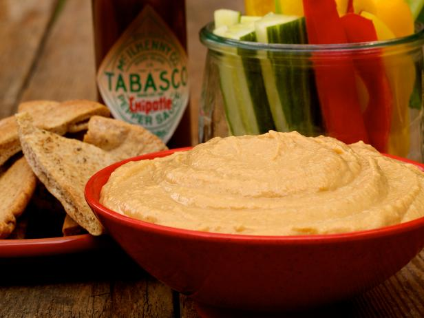 1-Step Chipotle Hummus