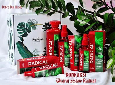 Konkurs! - Wygraj zestaw kosmetyków Radical!