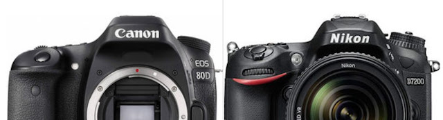 Few months back I shared my personal views about Canon 1300D Vs Nikon D3300 and this post got viral and still one of the top posts to be viewed. That's a huge encouragement to see that post is helping many to take a good decision.   Recently Diwali discounts were available on all e-commerce website, and we received various queries about camera selection. Most of the queries were related to entry level cameras, but one of the other query stood out - comparison between Nikon D7200 and Canon 80D. Both of these DSLRs are in semi-pro category. Today, we are going to look into the offerings by each of these cameras and then evaluate which one makes sense for what kind of photography. We would also look into price effectiveness of both the cameras.