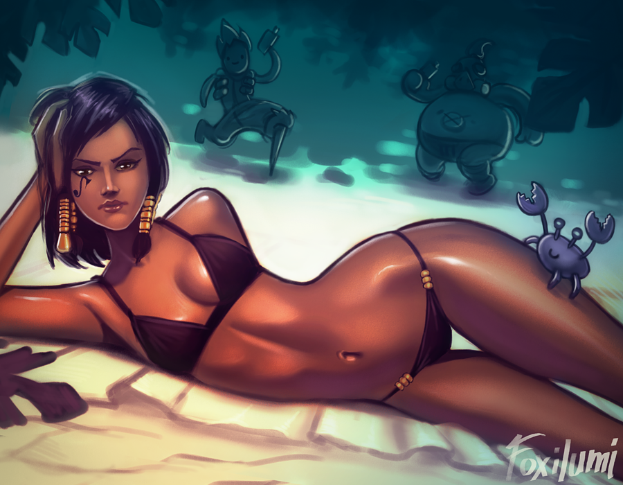 pharah in bikini photo