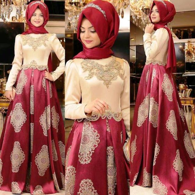 Inspirasi Gaun Muslimah Cantik dan Trendy 2001620