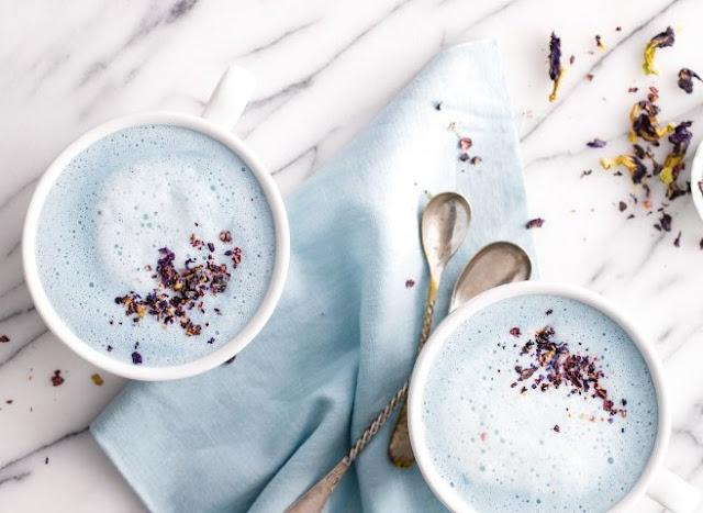 Blue Moon Milk #healthy #drinks