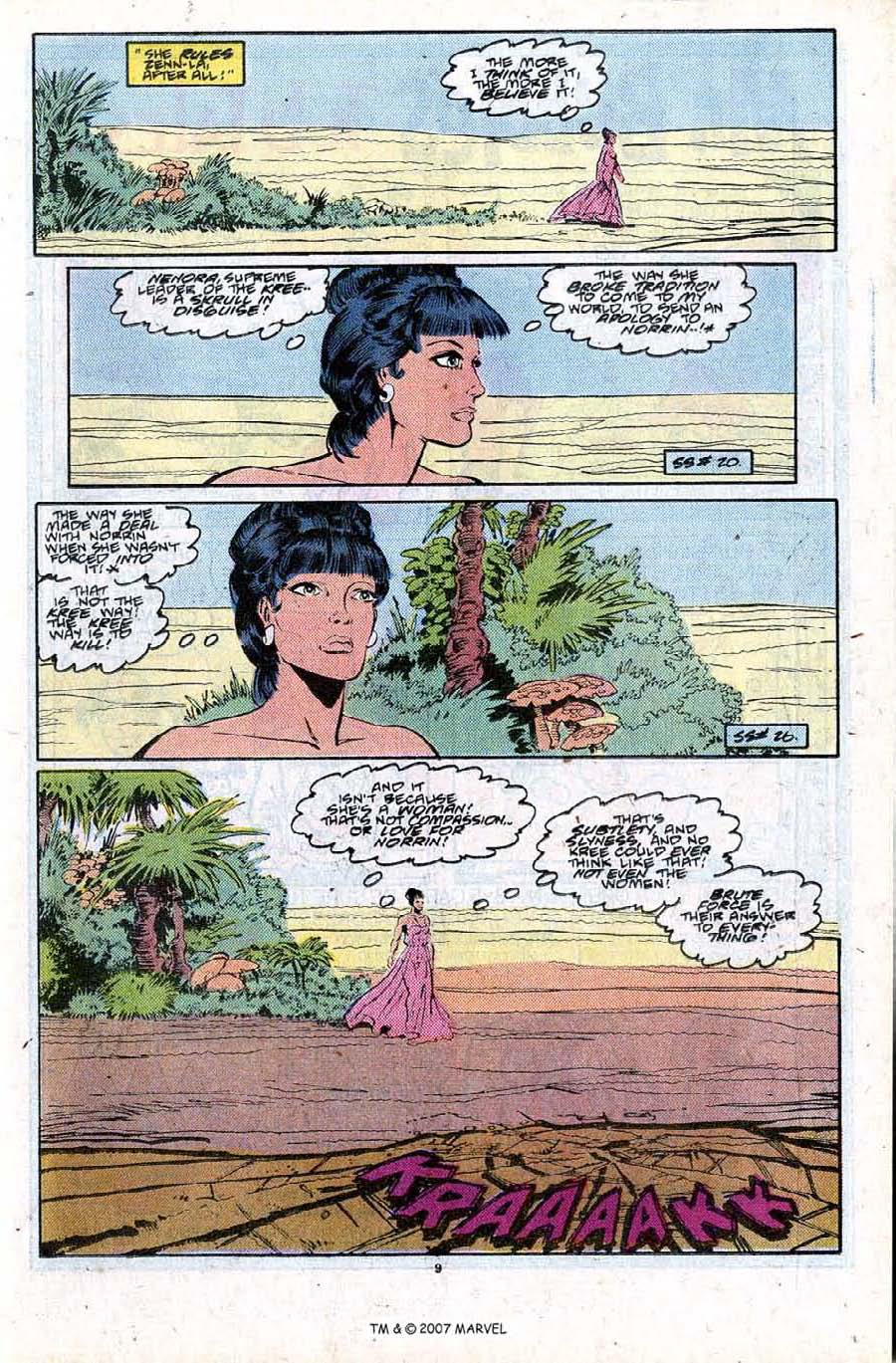Read online Silver Surfer (1987) comic -  Issue #28 - 11