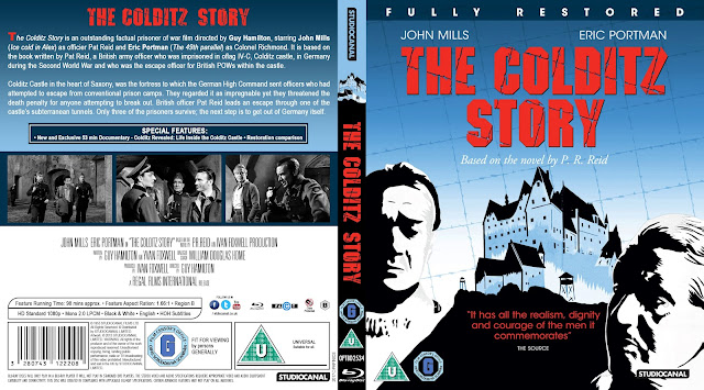 The Colditz Story Bluray Cover