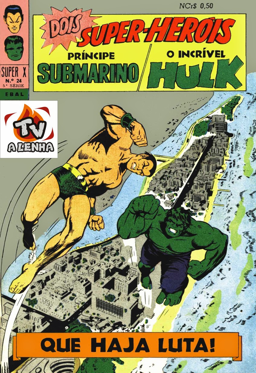 NAMOR E HULK (SUB-MARINER AND INCREDIBLE HULK)
