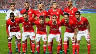 Daftar Skuad Pemain Benfica 2017-2018