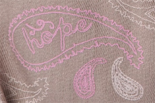 Miche Paisley Hope Shells Close Up