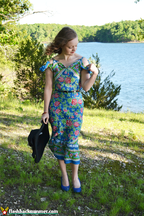 Flashback Summer: 1930s Zanzibar Dress