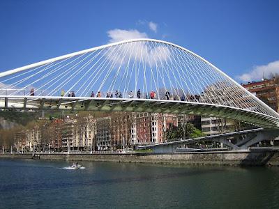 Sungai Nervion Di Bilbao