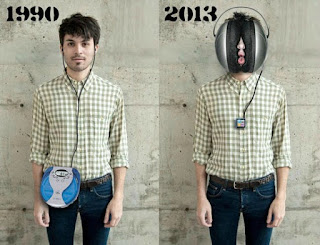 headphones then and now